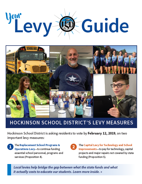 Cover of the Hockinson levy guide